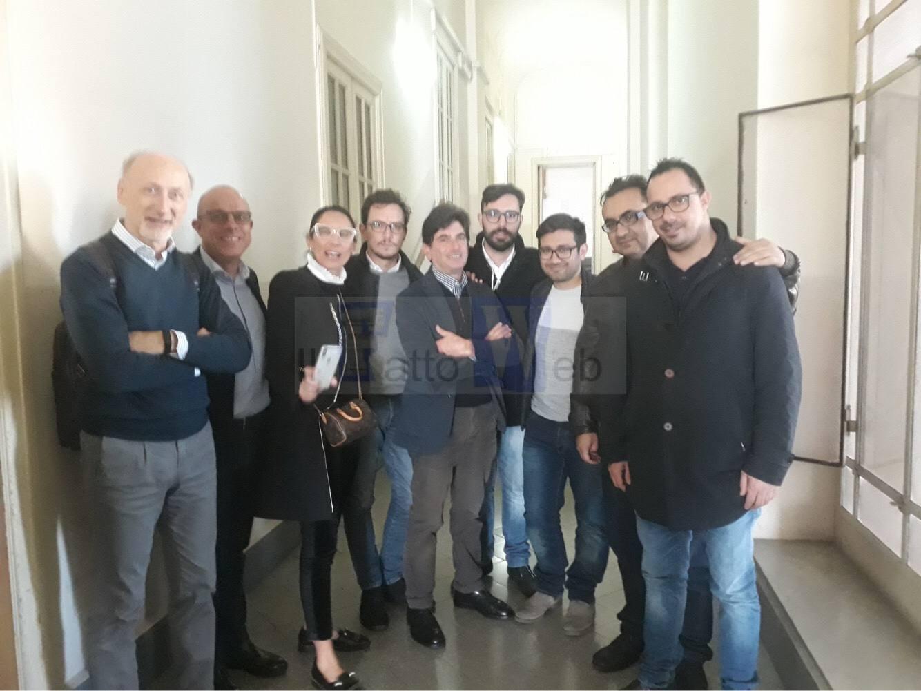 """Sopralluogo della commissione consiliare """"Cultura"""" nell'Istituto Musicale Vincenzo Bellini"""