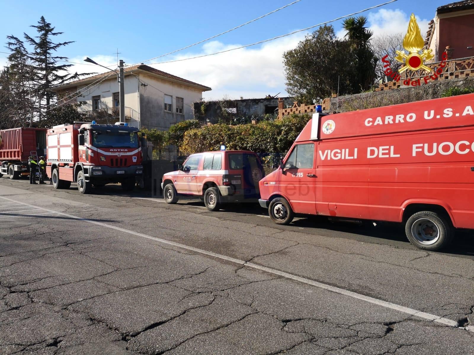 Terremoto, aggiornamento interventi di soccorso effettuati dai VV.FF.