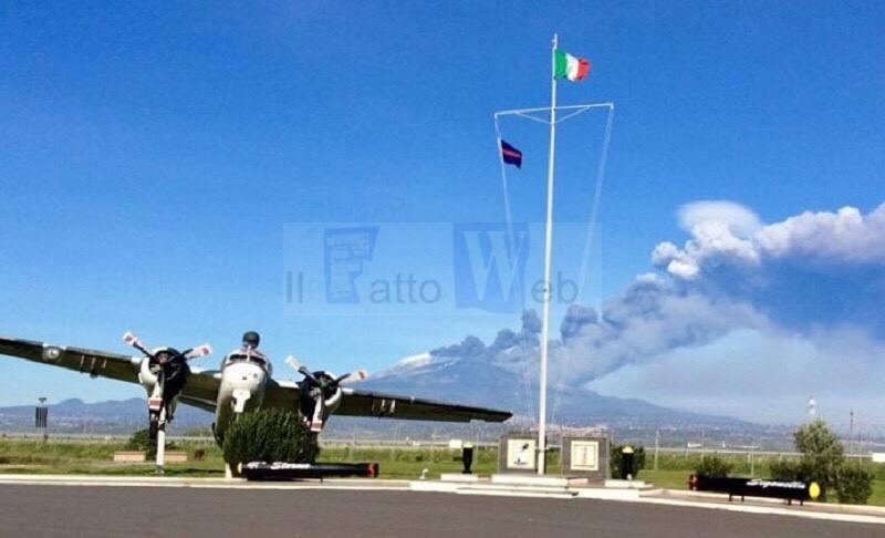 L'Aeronautica Militare supporta l'Aeroporto civile di Fontanarossa