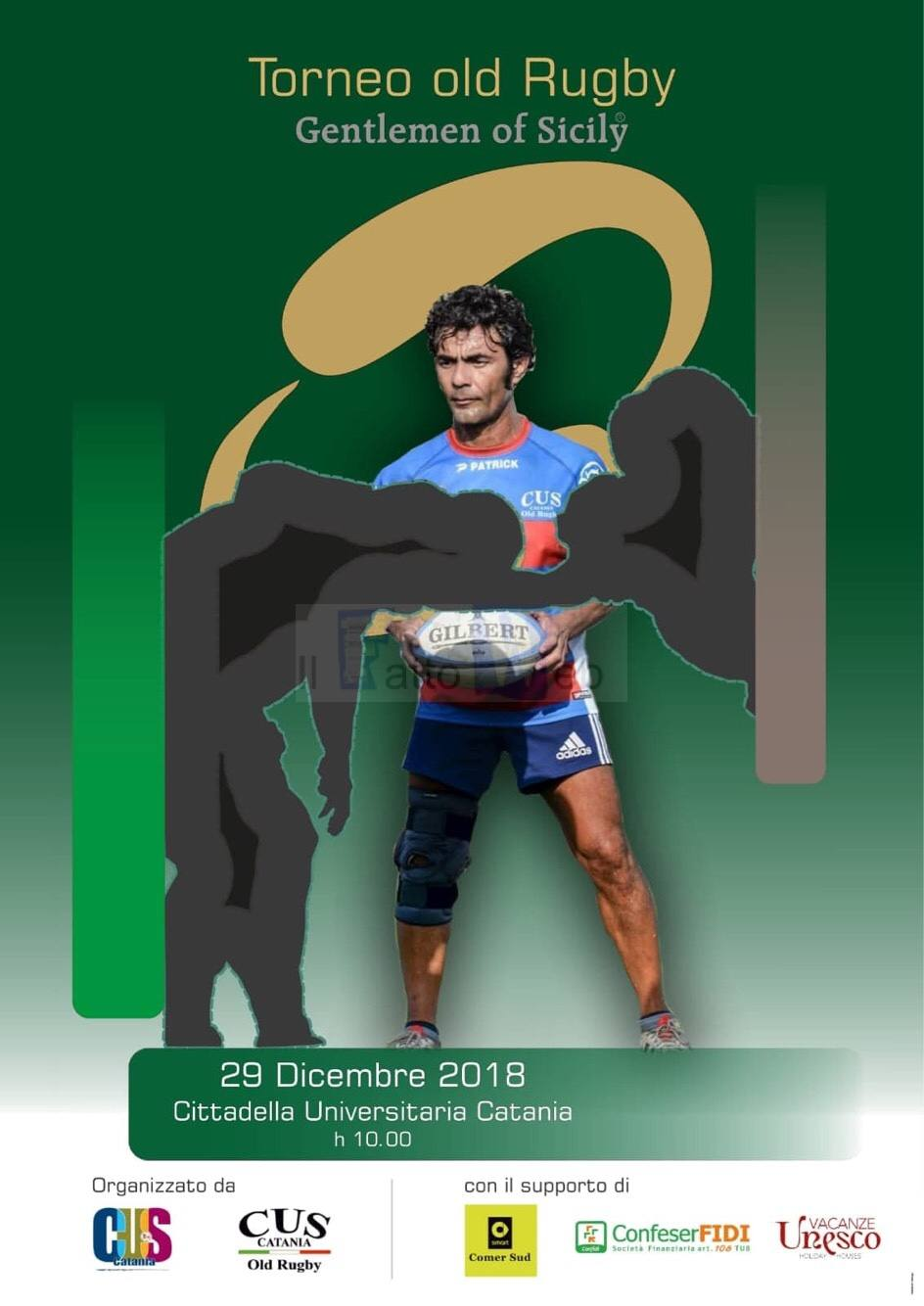 """Torneo Old Rugby, Gentlemen of Sicily"" Memorial Vincenzo Nicotra"