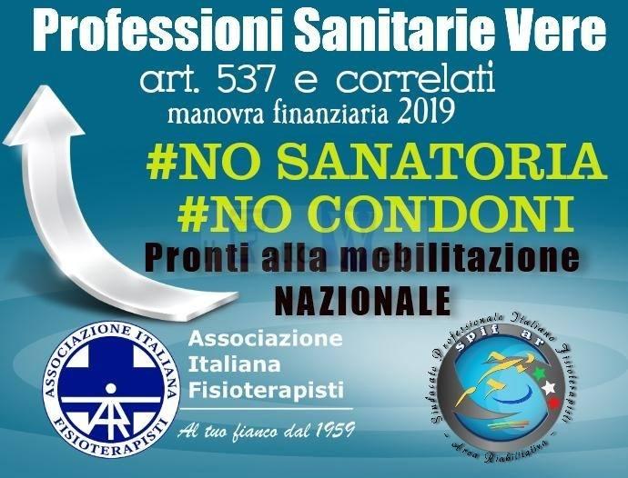 """A.I.FI.: """"No alla sanatoria, sì alle professioni sanitarie vere!"""""""