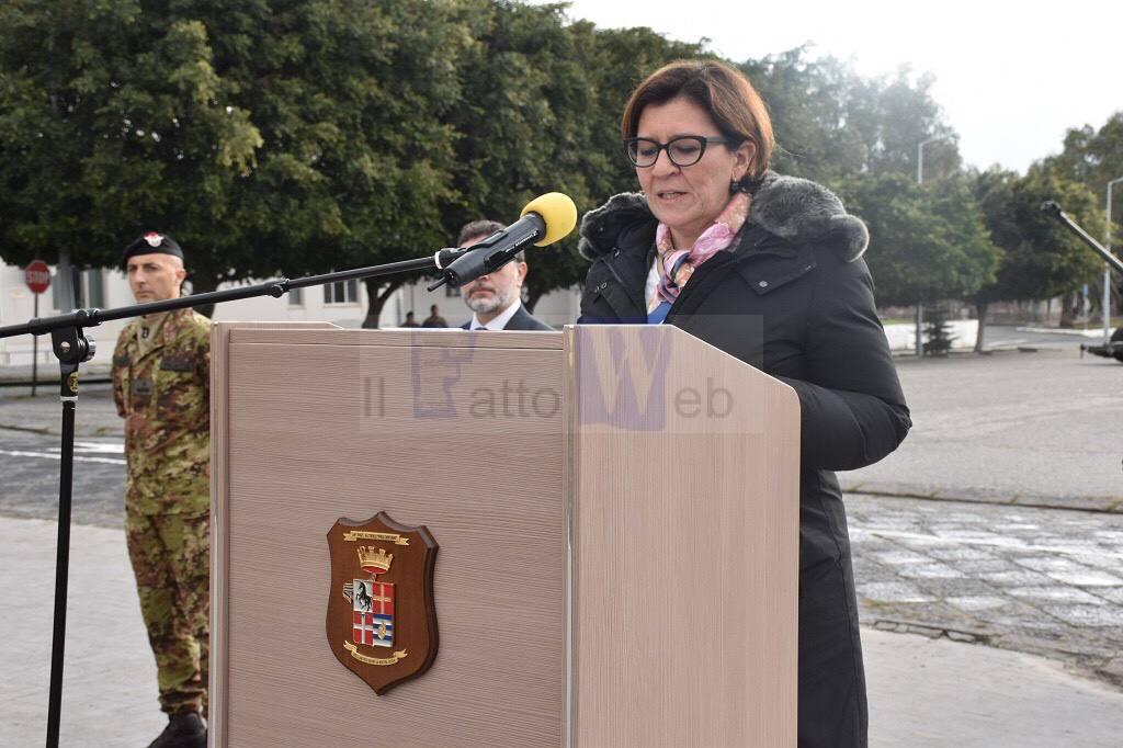 """Il Ministro Trenta al 62º Reggimento Fanteria """"Sicilia"""" """"Grazie anche al vostro impegno, l'Italia si è guadagnata l'apprezzamento della Comunità Internazionale"""""""