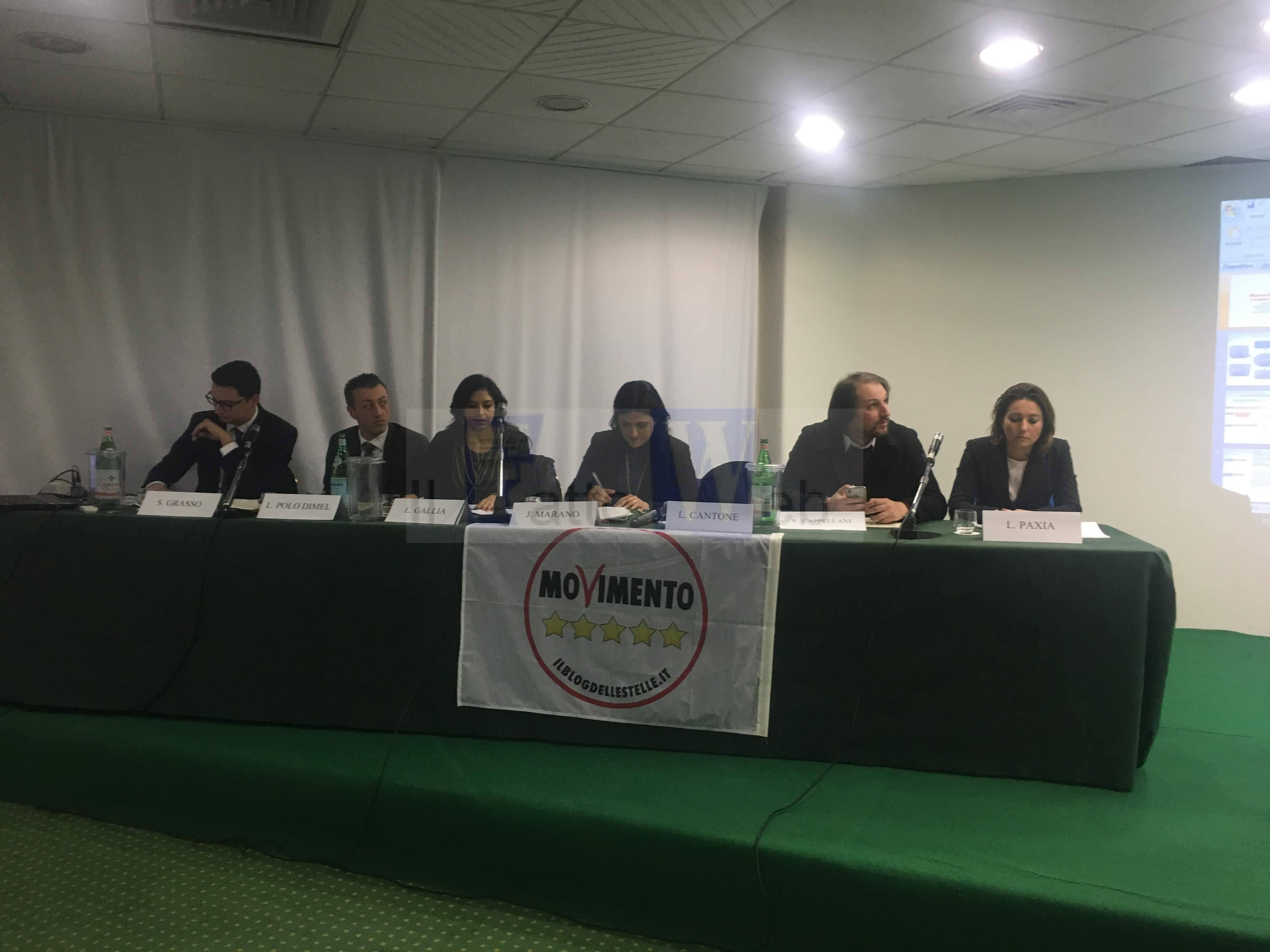 """I deputati del M5S parlano della """"Manovra finanziaria  e prospettive per le PMI"""""""