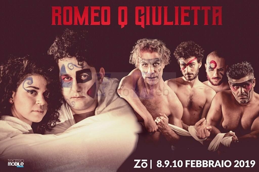 """Al Centro Zo va in scena """"Romeo Q Giulietta"""" l'eterna storia riscritta e trasposta in Sicilia"""