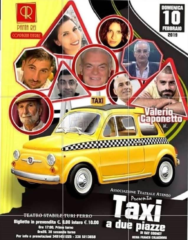 """Al Teatro Turi Ferro in scena """"Taxi a due piazze"""" l'esilarante commedia dei doppi sensi"""