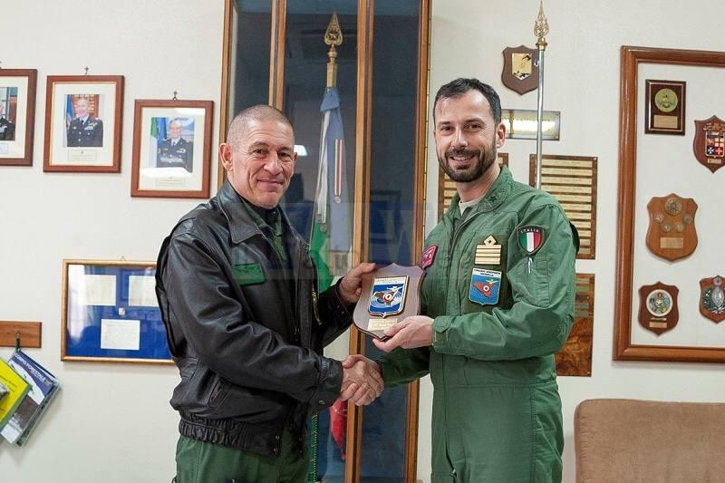 Al Comando Aeroporto di Sigonella la visita del Comandante della Squadra Aerea