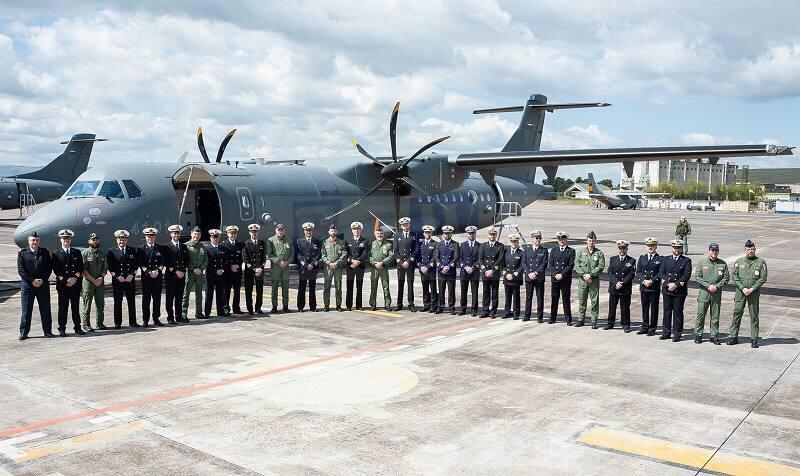 La Marina Militare di Augusta in visita al 41° Stormo di Sigonella