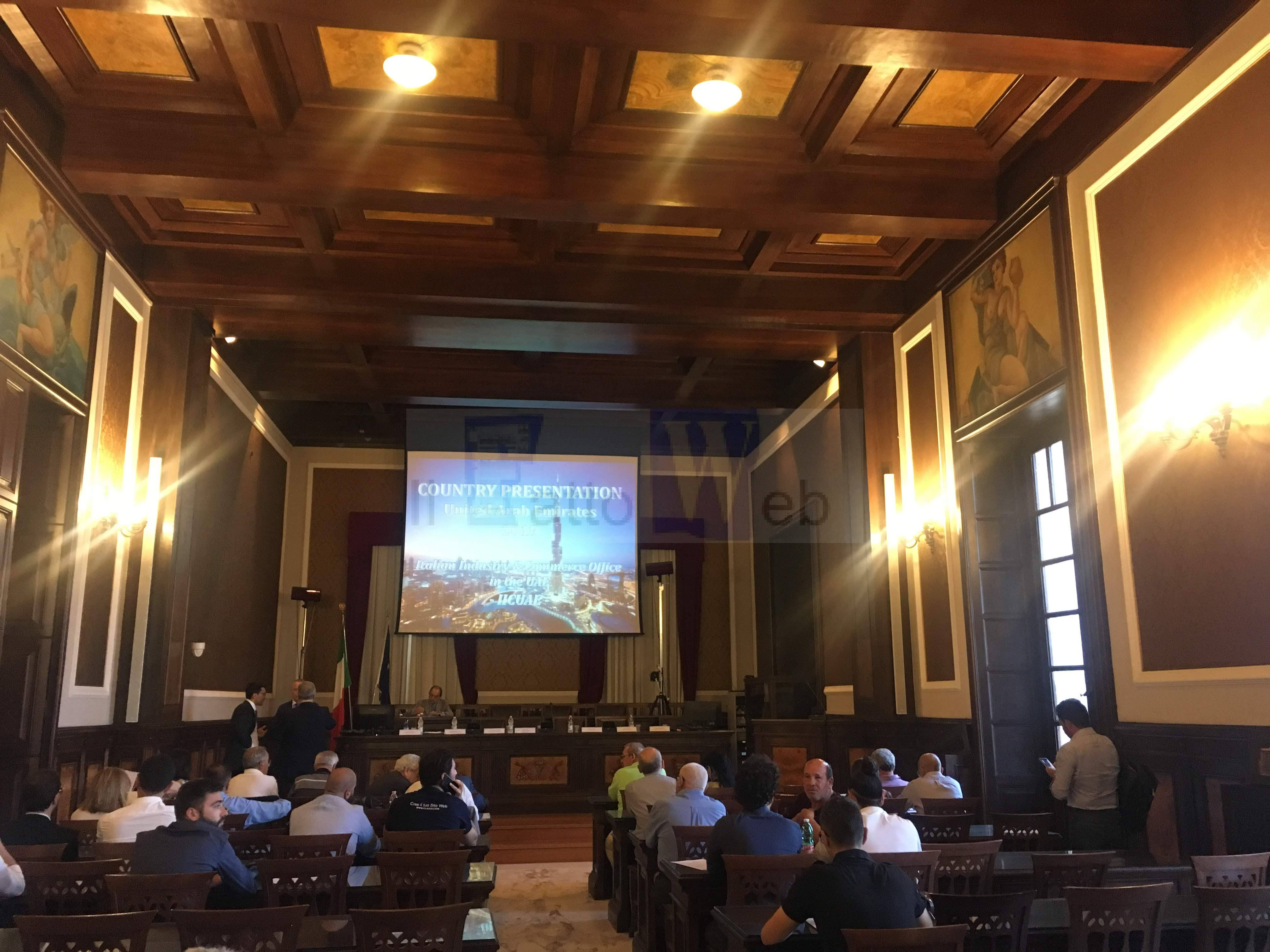 CAM COM Sud Est Sicilia: Primo step per la collaborazione commerciale tra imprese della Sicilia orientale ed Emirati Arabi grazie la collaborazione tra Camere di Commercio