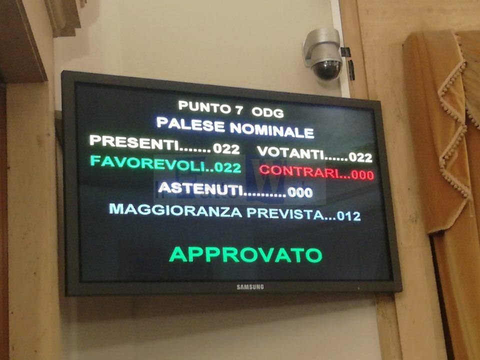 """Il Consiglio Comunale approva all'unanimità la mozione presentata dal gruppo """"Grande Catania"""" per il riconoscimento della Festa di Sant'Agata  nella lista del """"Patrimonio Mondiale dell'Umanità"""" dell'Unesco"""