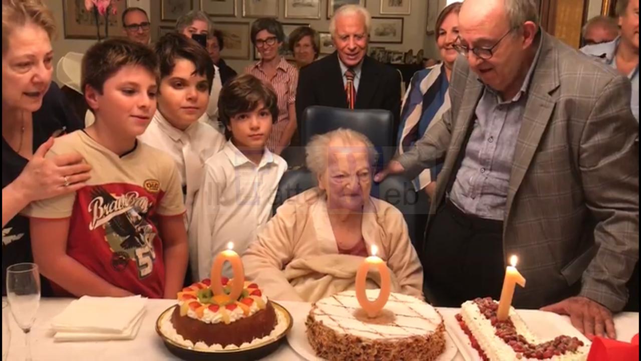 Tanti auguri alla signora Anna Reitano Sanfilippo per i suoi cento anni