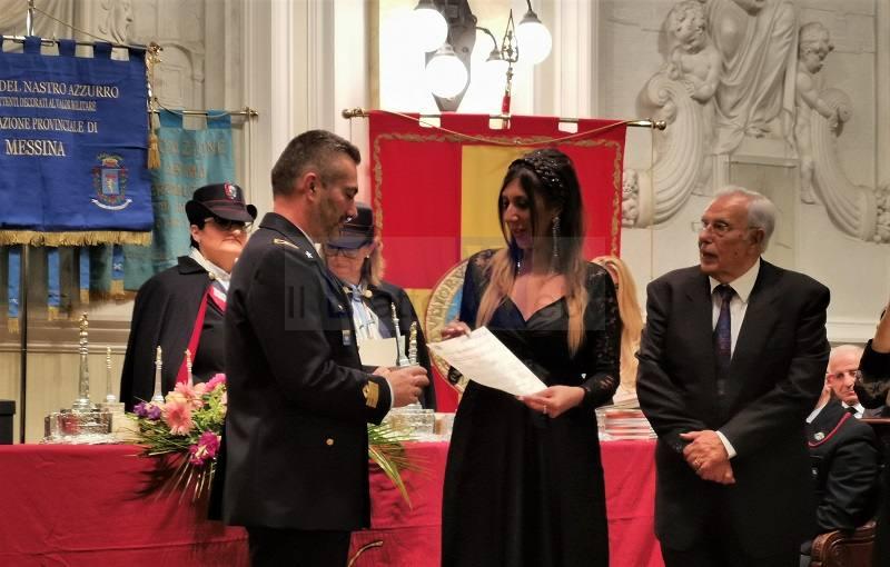 """L'Aeronautica Militare di Sigonella tra i premiati al """"Premio Orione"""" di Messina"""
