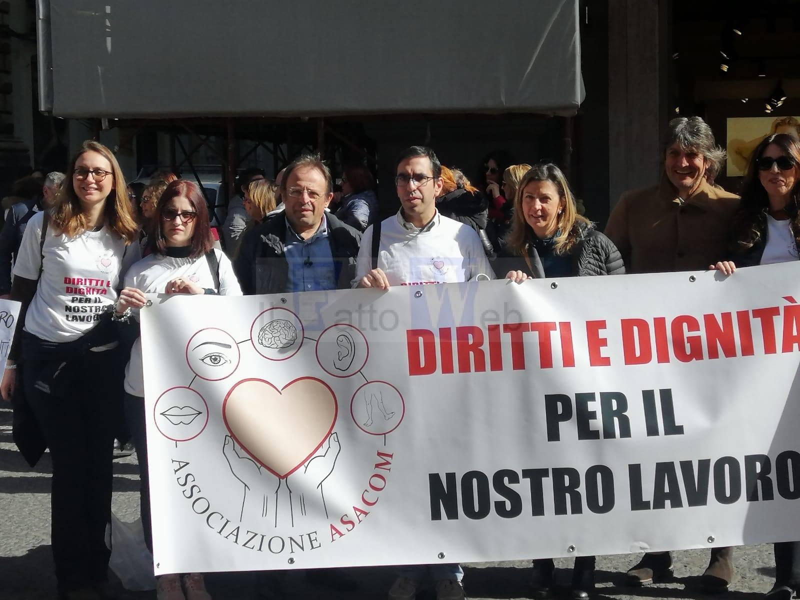 Il Coordinamento provinciale di Azione Catania a sostegno dei lavoratori Asacom, sfruttati e abbandonati dalle Istituzioni
