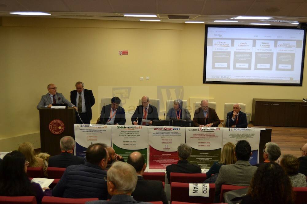 Presentato Expolab2021, contenitore di eventi scientifici su Biotecnologia, Chimica, Clinica e Sicurezza nei laboratori