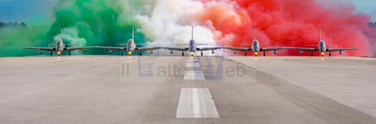 LE FRECCE TRICOLORI ABBRACCIANO L'ITALIA: IN CINQUE GIORNI TOCCHERANNO I CAPOLUOGHI DI REGIONE