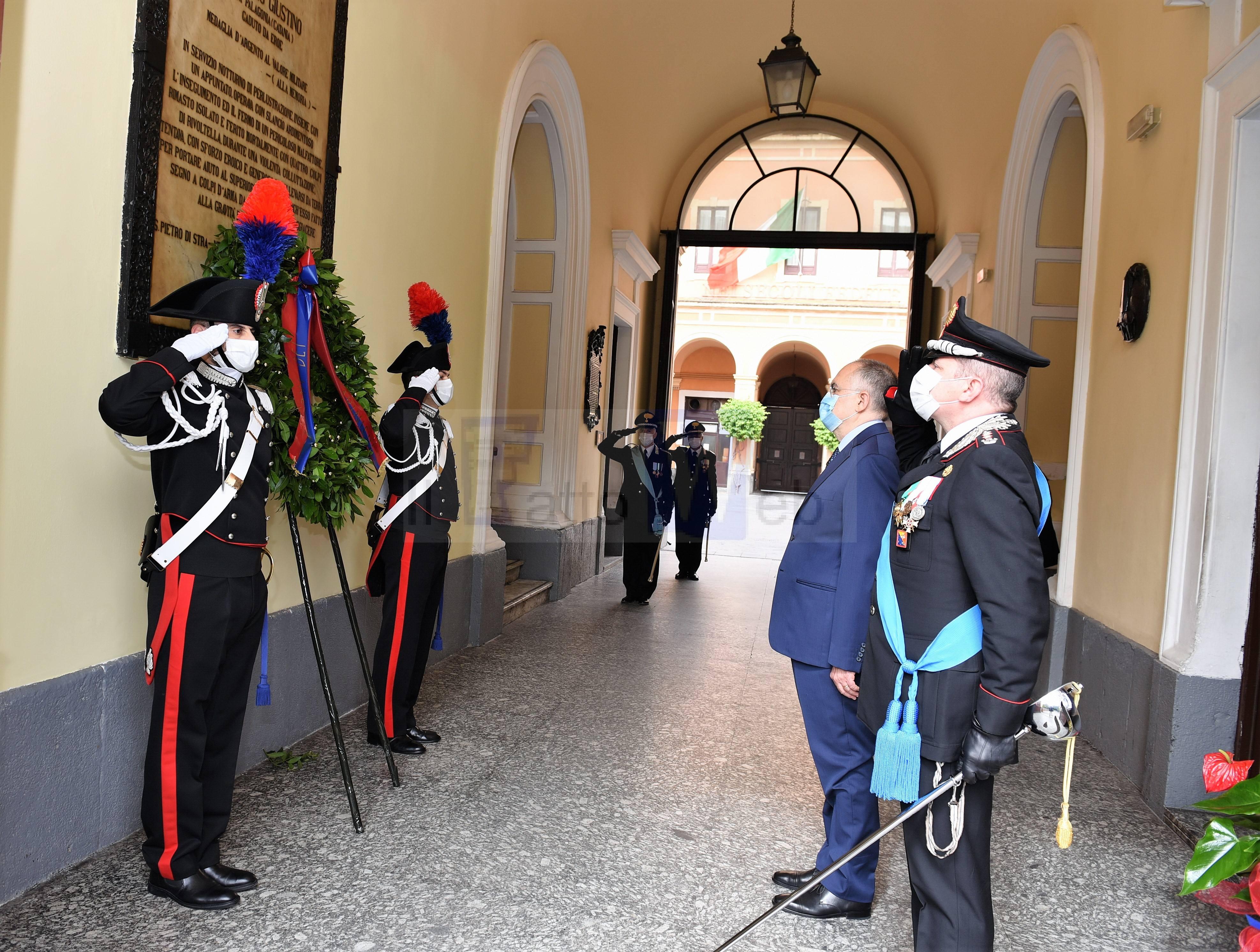 I 206° Annuale della Fondazione dell'Arma dei Carabinieri