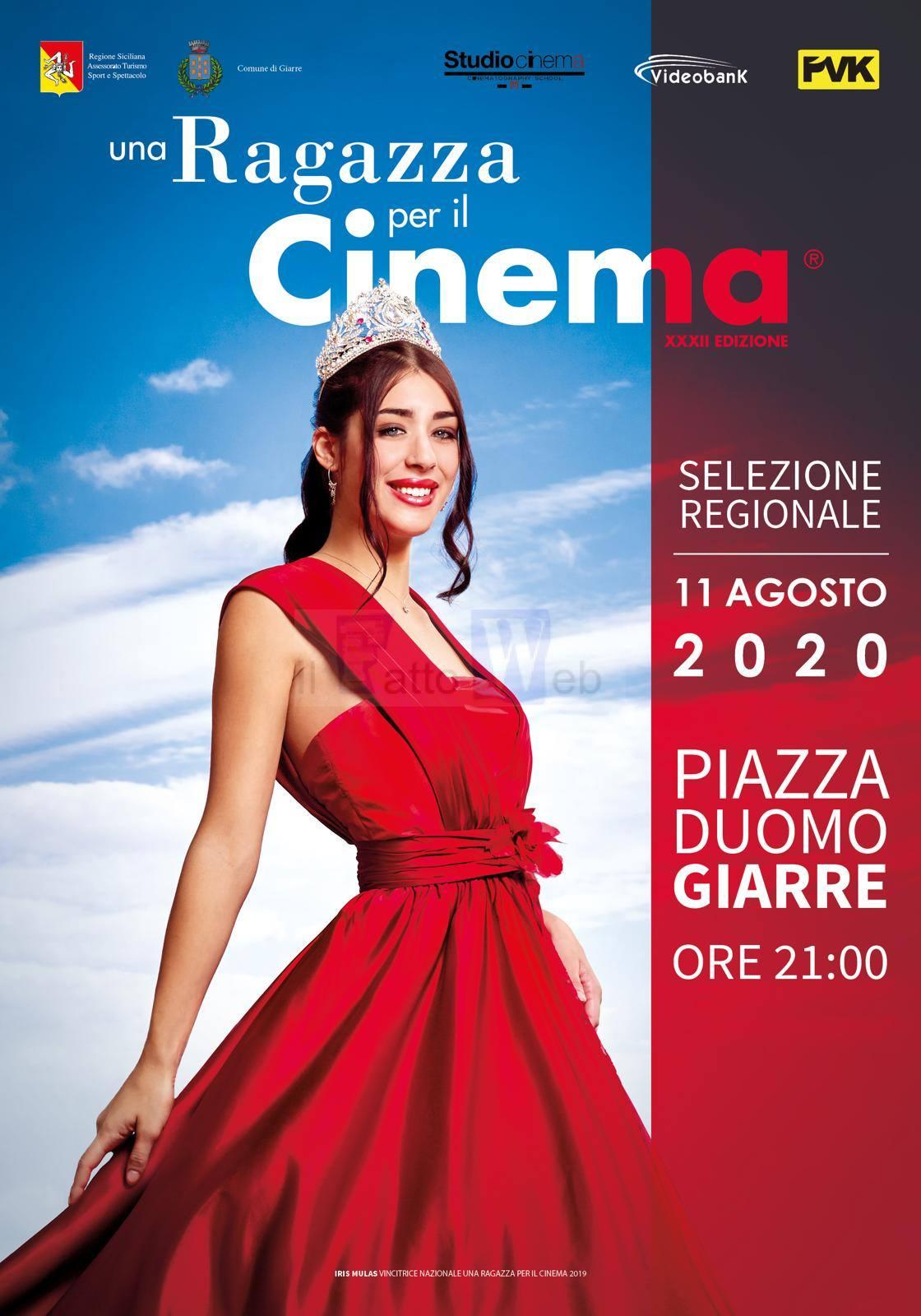 """SELEZIONI PER """"UNA RAGAZZA PER IL CINEMA"""", DOMANI 11 AGOSTO FARA' TAPPA A GIARRE"""