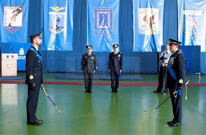 41° STORMO SIGONELLA: Il Colonnello Chiriatti lascia il comando al Colonnello Rivera