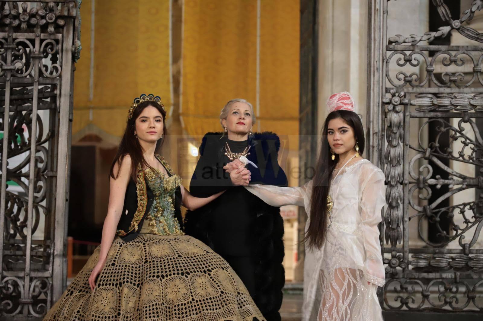 """Liliana Nigro e la sua """"CONTAMINAZIONE"""", la  XIX mostra di abiti e costumi teatrali dedicati a Sant'Agata"""