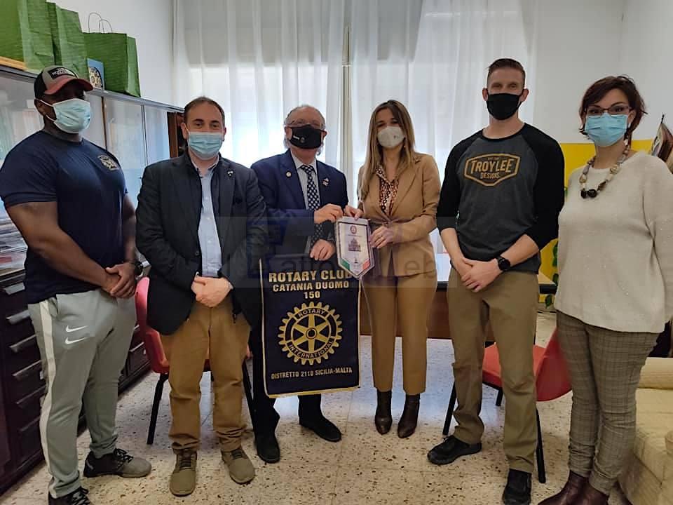 Rotary e militari americani della NAS Sigonella all'IC Ponte di Palagonia per promuovere sport e corretta alimentazione