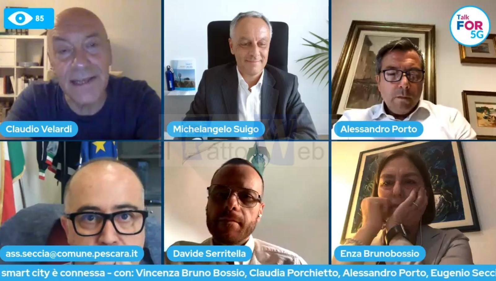 """Talk For 5G: Alessandro Porto (Ass. Comune di Catania): """"Le nuove tecnologie, le reti digitali ultraveloci e l'intelligenza artificiale requisiti indispensabili per promuovere ricchezza e sviluppo del territorio"""""""