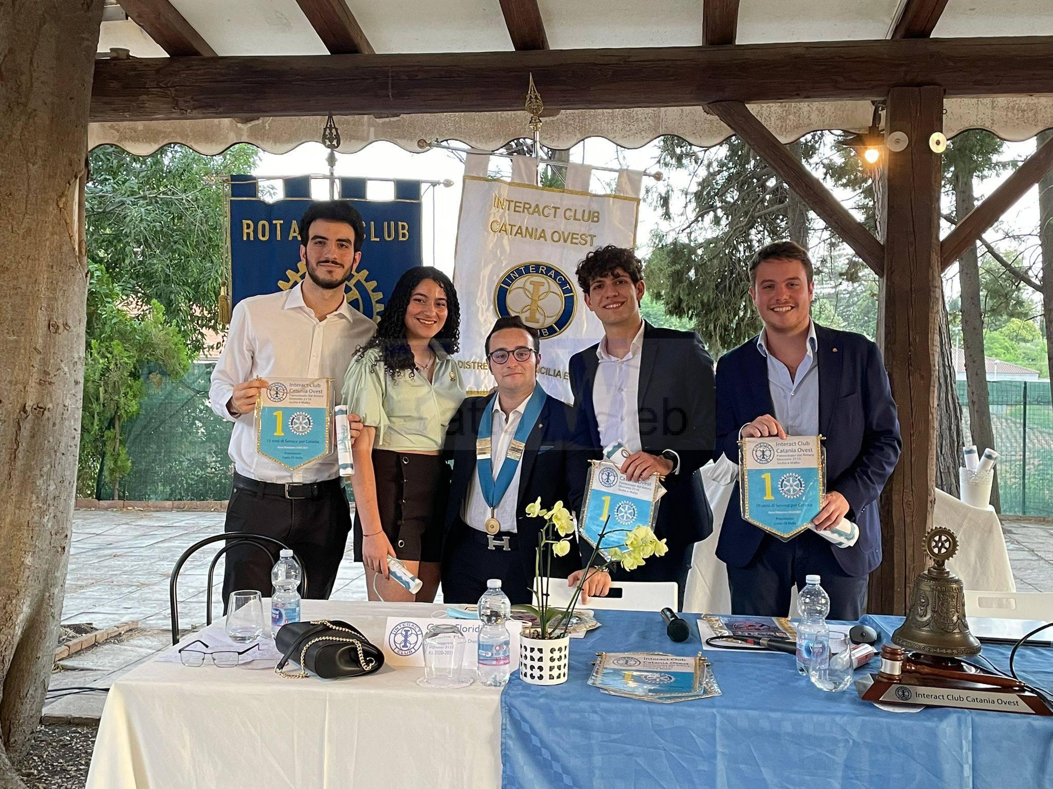 L'Interact Catania Ovest festeggia 10 anni di attività